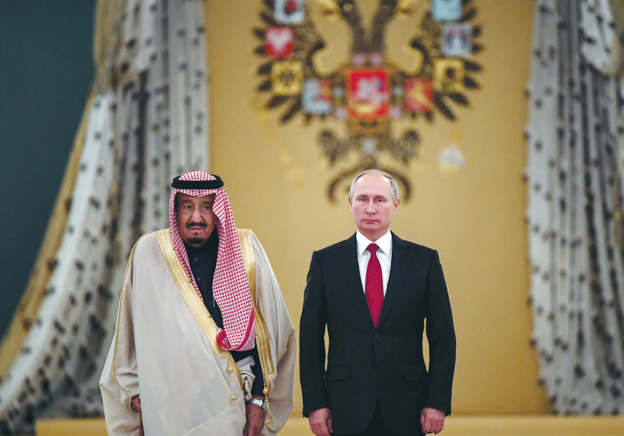 Keeping an eye on Moscow and Riyadh