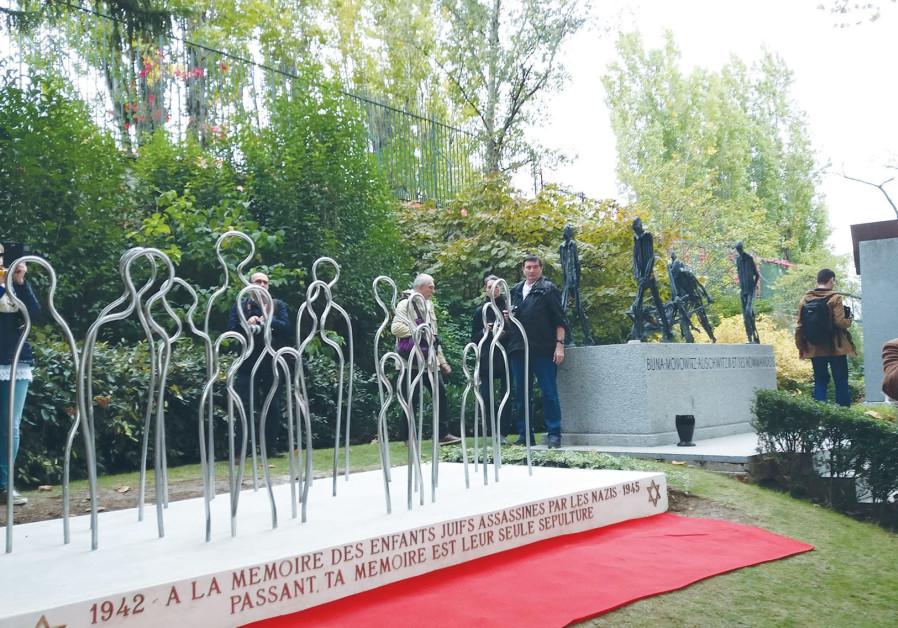 Holocaust memorial for children dedicated in Paris