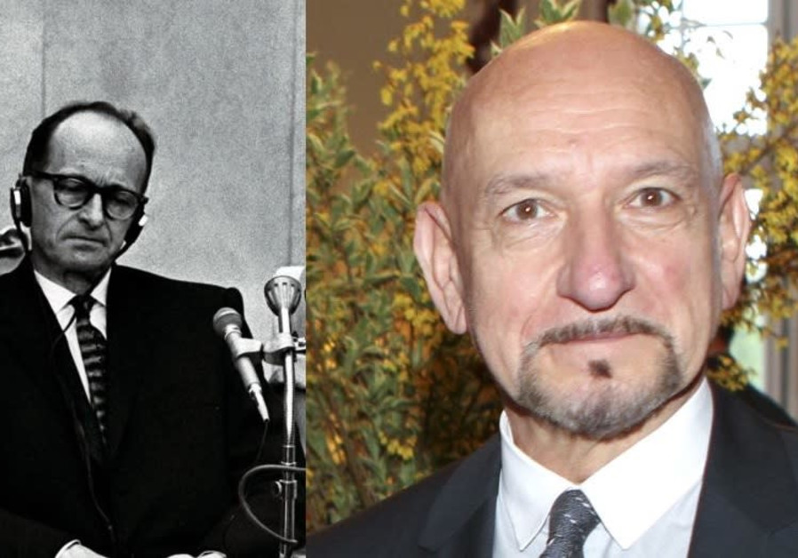 Academy Award winner Ben Kingsley will play Adolf Eichmann in a new film.