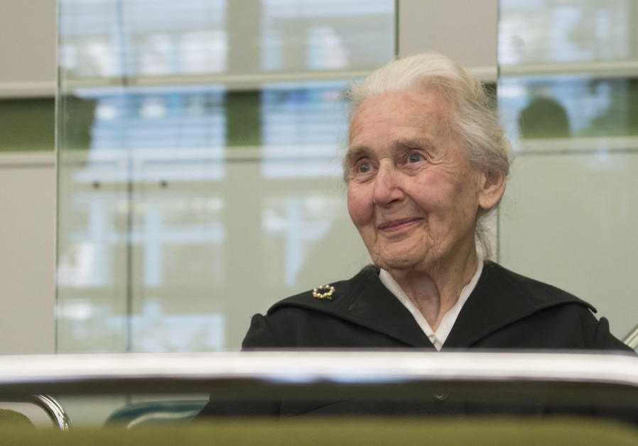 Ursula Haverbeck infamously known as 'Nazi grandma.'