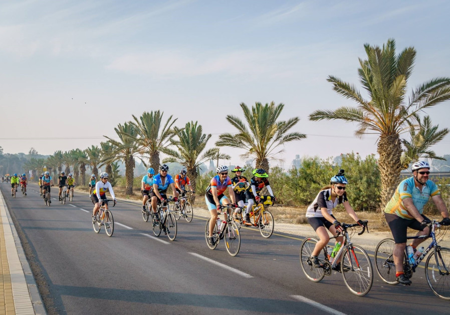 Bicyclers from all over the world to pedal for Arab-Israeli peace