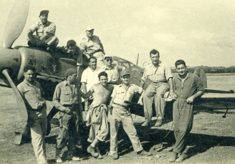 American pilots who volunteered for Israel during the 1948 War of Independence.
