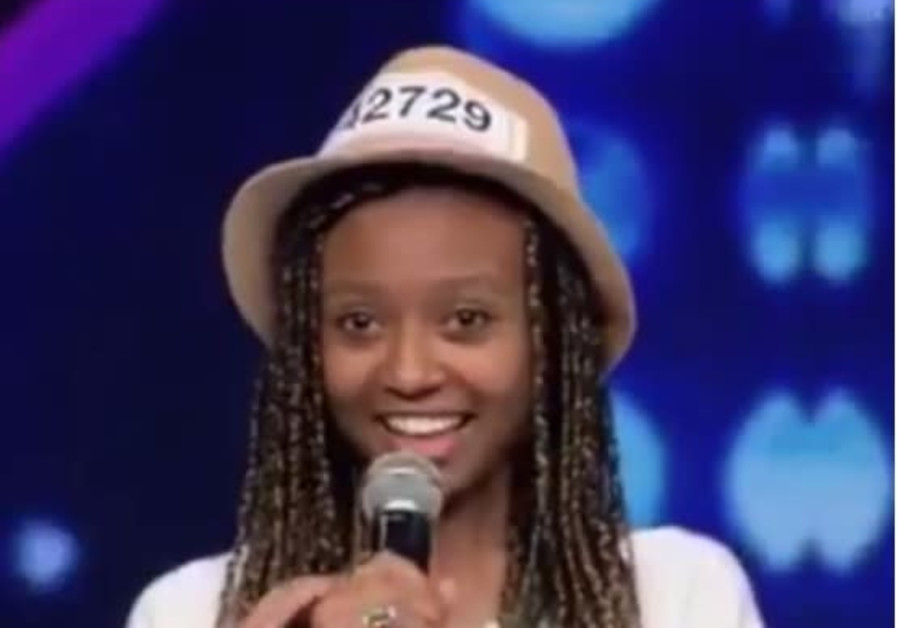 17-year-old Israeli Eden from Jerusalem blows away judges on Israel's X-Factor.