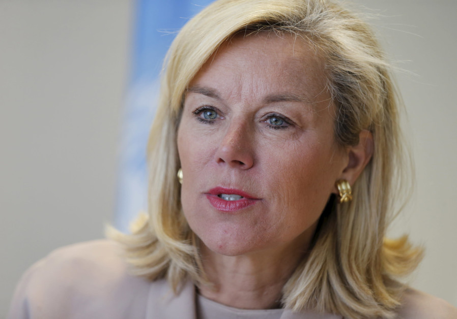 Sigrid Kaag, Dutch activist for Palestinian rights and nominee for the second-most powerful Cabinet