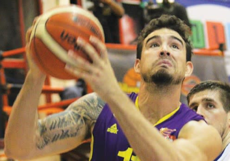 Hapoel Holon forward Joe Alexander had 22 points and seven rebounds in last night's 90-85 victory at