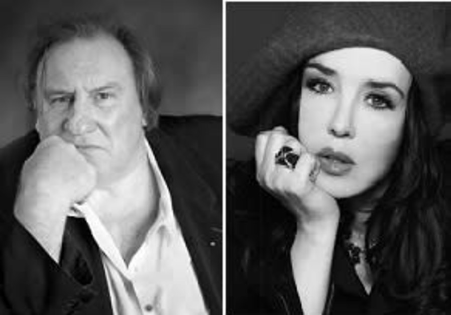 Gerard Depardieu and Isabelle Adjani