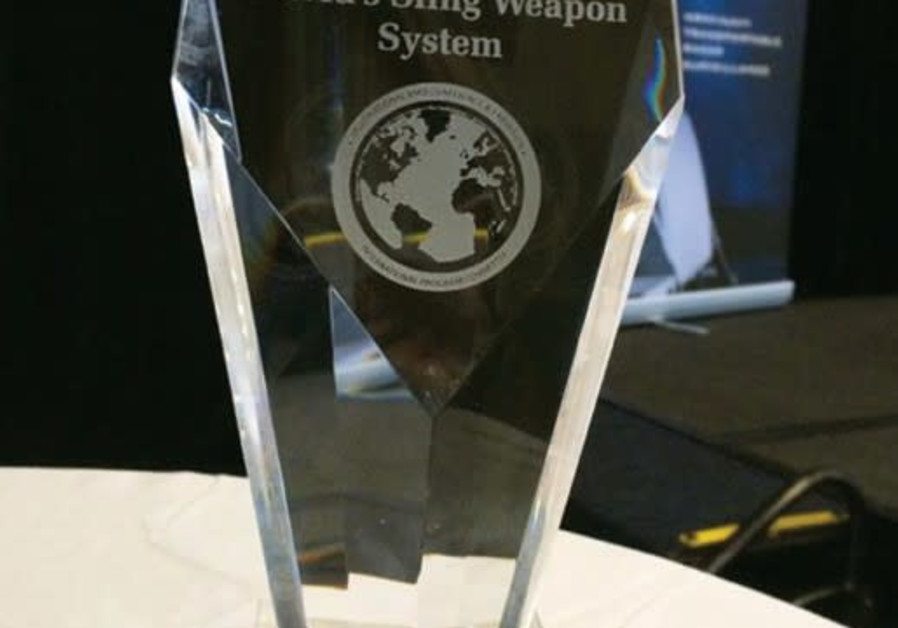 David's Sling wins Technology Pioneer Award