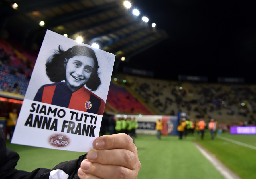 Anne Frank passage to be read at Italian soccer matches