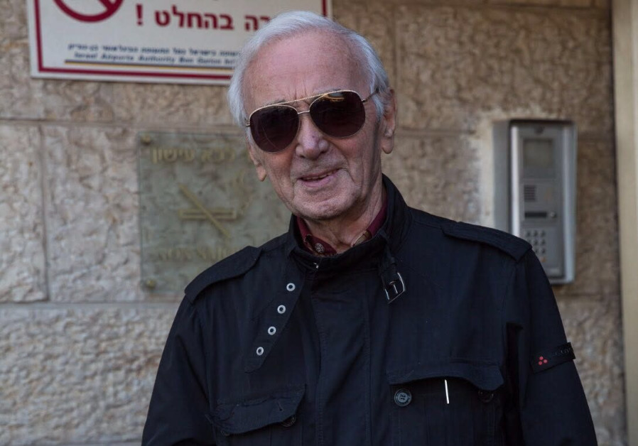 World-famous French singer Charles Aznavour to receive Wallenberg medal