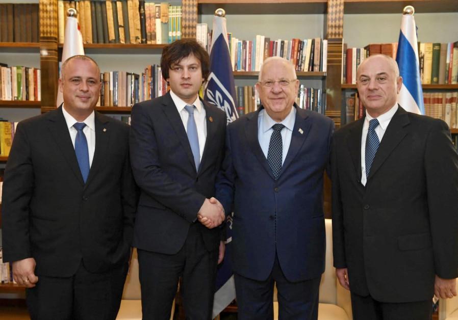 Georgian parliament chairman: What's BDS?