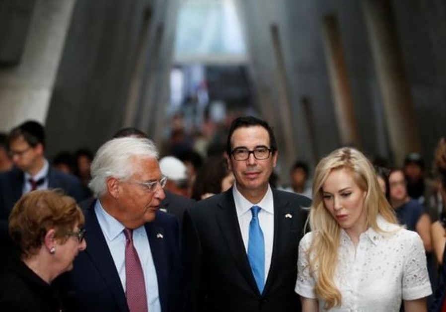 Mnuchin praises Israel during Mideast trip aimed at combating terror financing