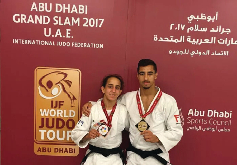 Israeli judoka Flicker strikes gold at Abu Dhabi event