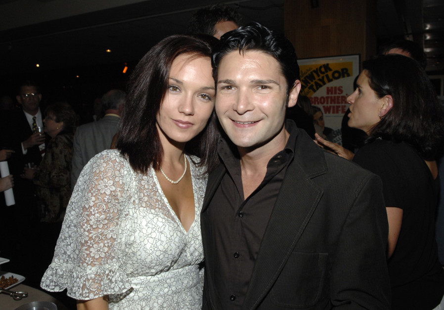 Corey Feldman (R) and wife Susie Sprague.