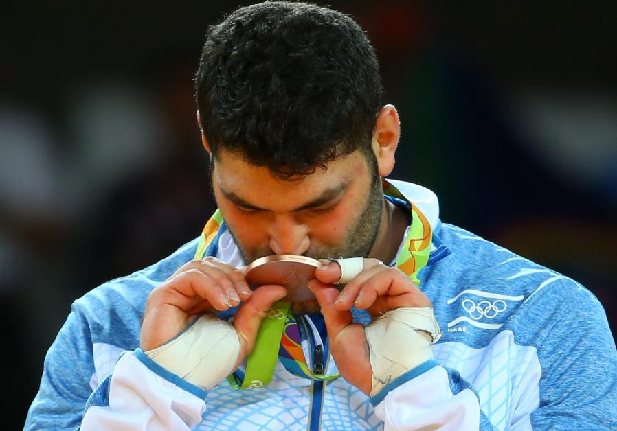 Fifth medal for flagless Israel at Abu Dhabi judo Grand Slam
