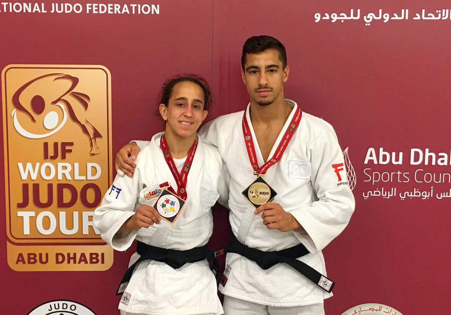 The Flicker effect: Israeli Judoka wins medal in Abu Dhabi