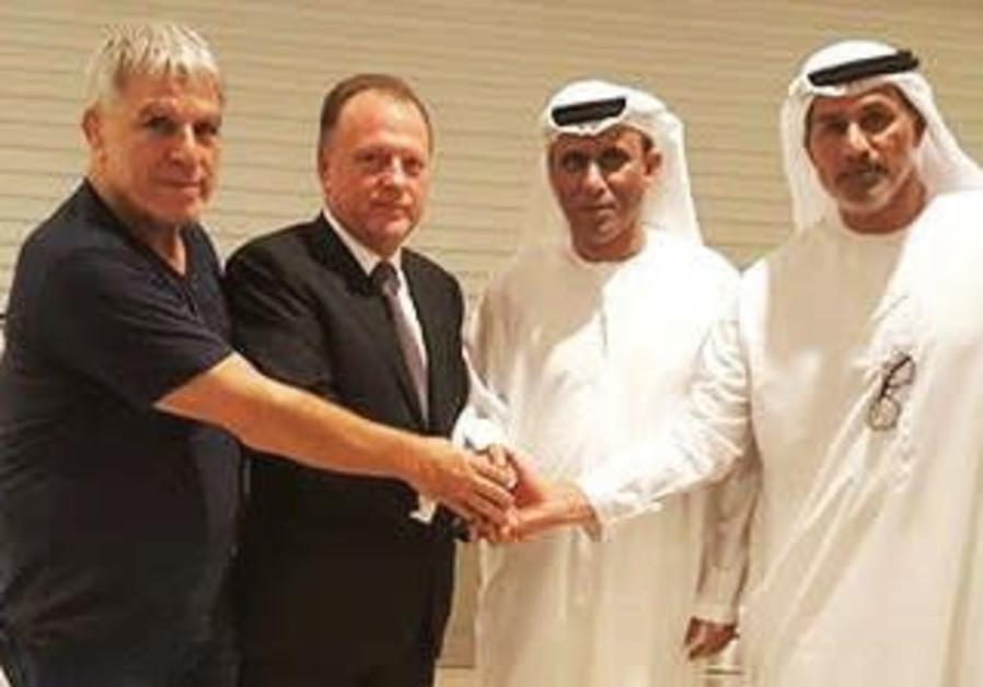Israel Judo meets with Abu Dhabi organizers