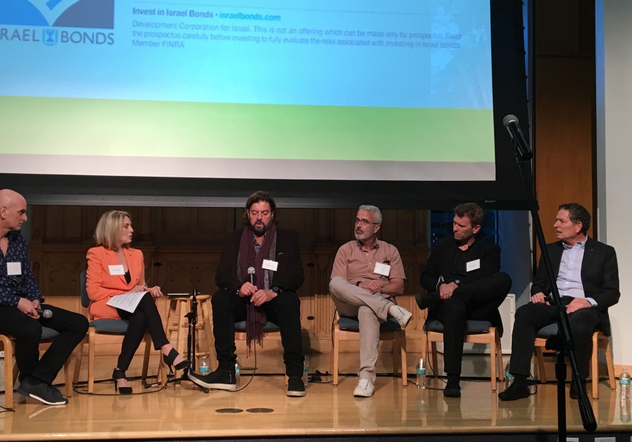 Panelists discuss the threat of cultural BDS at an event in Los Angeles