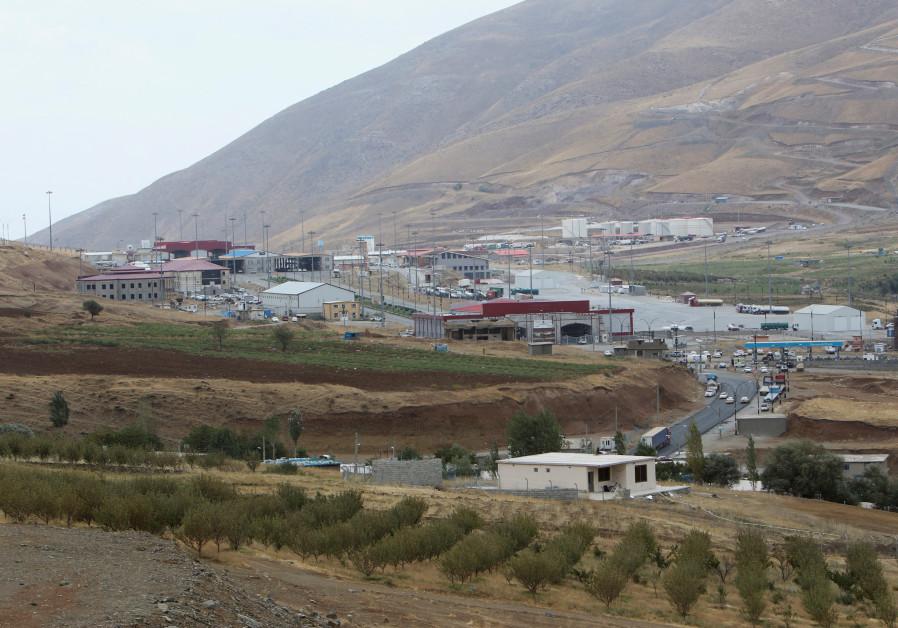 Haj Omran border is seen, on the border between Iran and Kurdistan, Iraq.