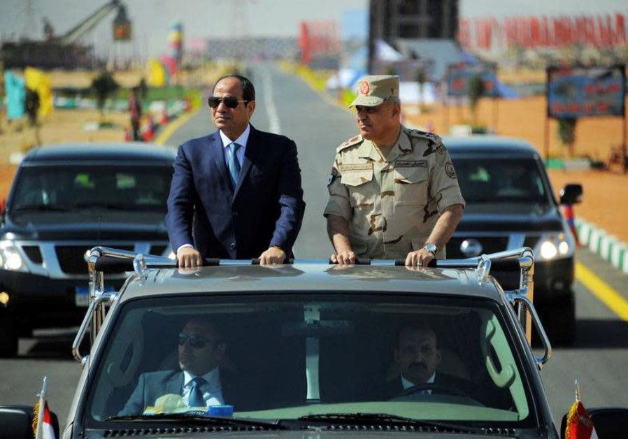 Egypt's Sisi shakes up security sector after recent attacks