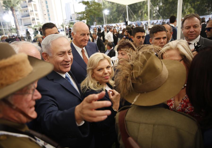 Israeli Prime Minister Benjamin Netanyahu and Australian counterpart Malcolm Turnbull