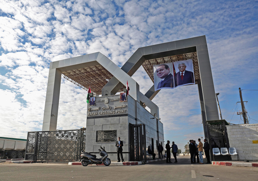 Hamas hands over control of the Rafa border crossing with Egypt to the Palestinian Authority