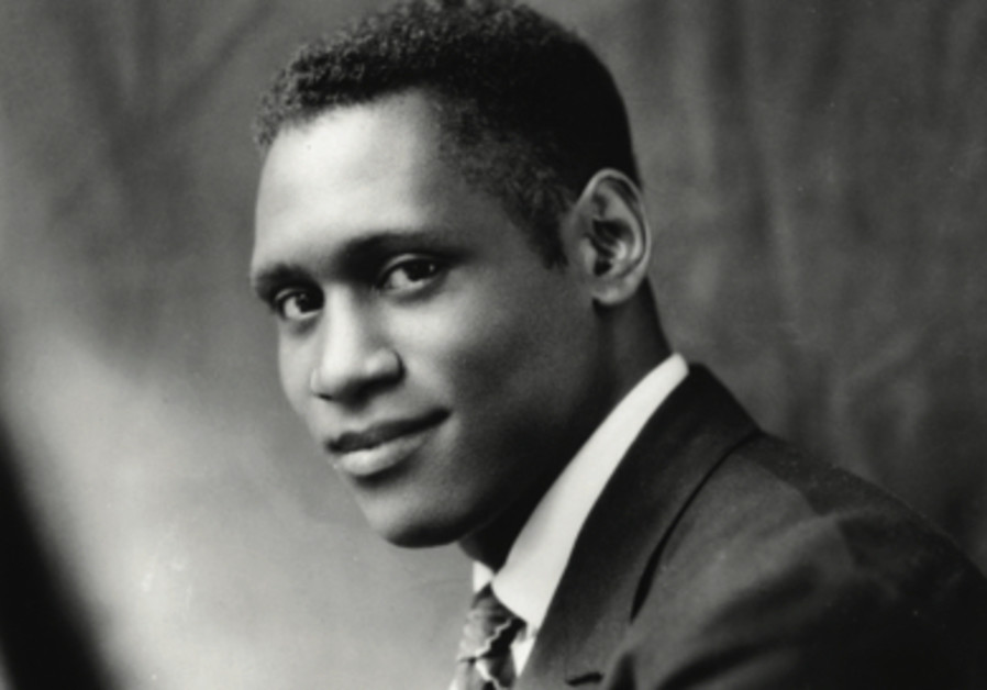 An artist and a citizen: (A young) Paul Robeson.