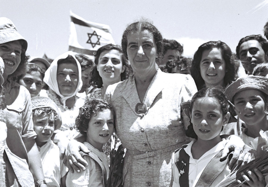 THEN-LABOR minister Golda Meir attends the opening of the Tel Aviv-Netanya highway in July 1950