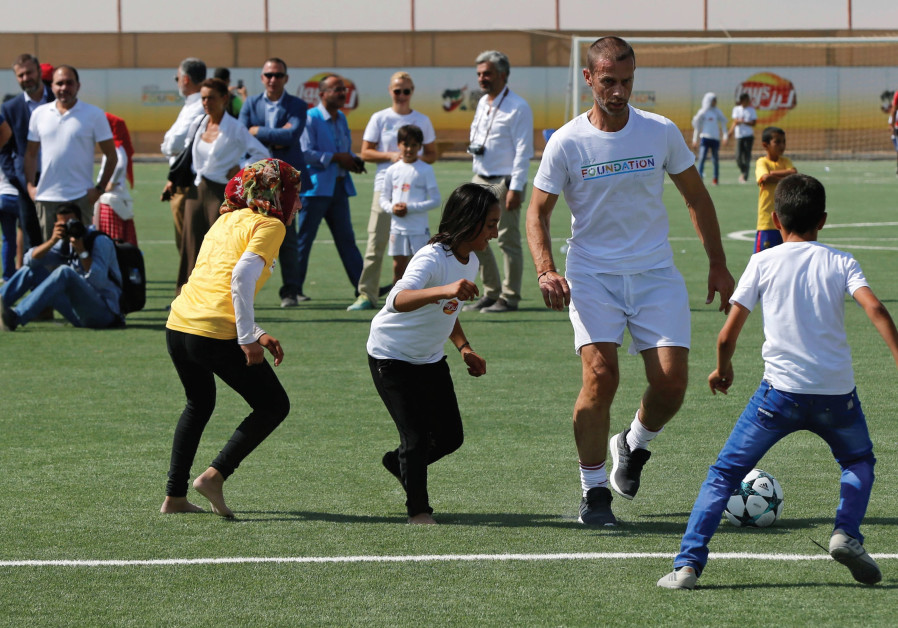 Sport can change the world – even the pope agrees