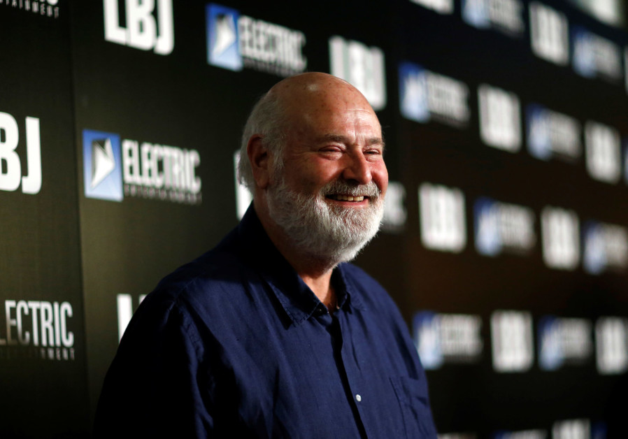 "Director Rob Reiner poses at the premiere for ""LBJ"" in Los Angeles, California, U.S., October 24, 20"
