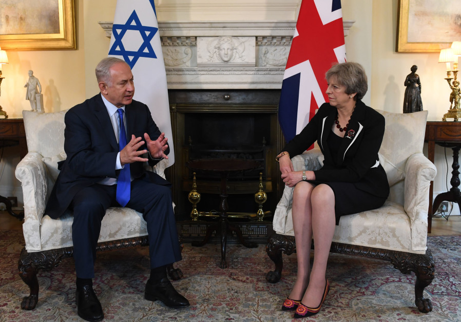 Netanyahu and May