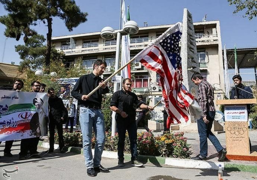 Iran displays missile, calls Trump 'crazy' in marking 1979 US embassy takeover