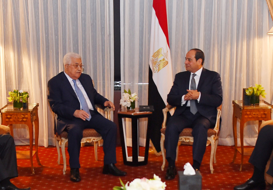 Sisi reiterates commitment to Israeli-Palestinian peace during Abbas visit