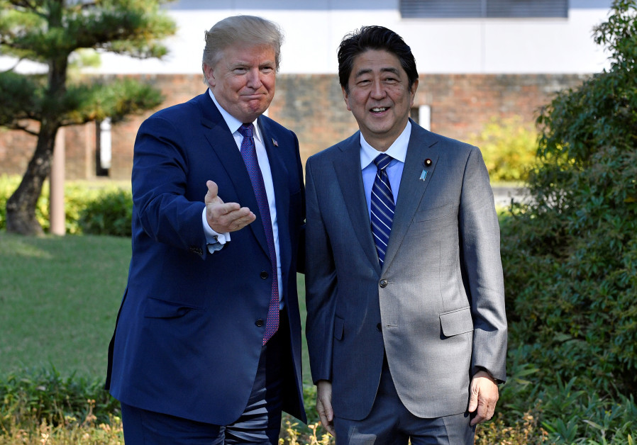U.S. asked Japan's Abe to nominate Trump for Nobel Peace Prize-report