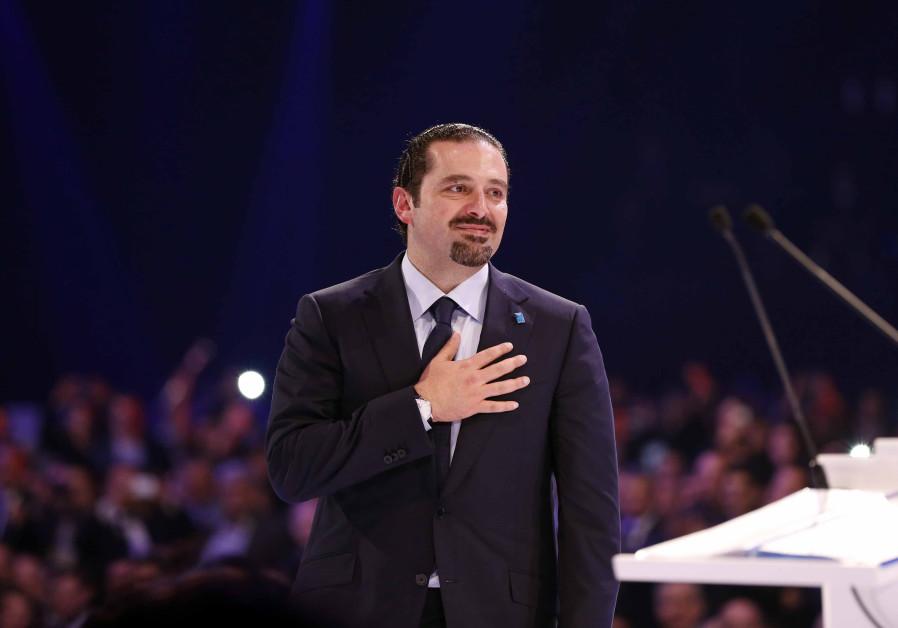 Lebanon's former prime minister Saad Hariri