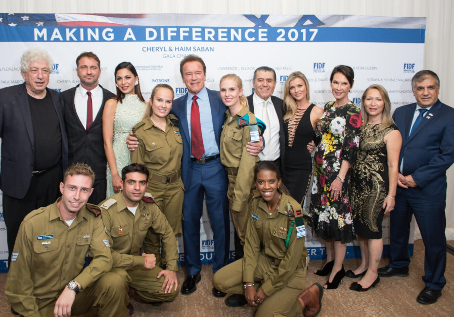 IDF women front and center at LA gala that raised record amount