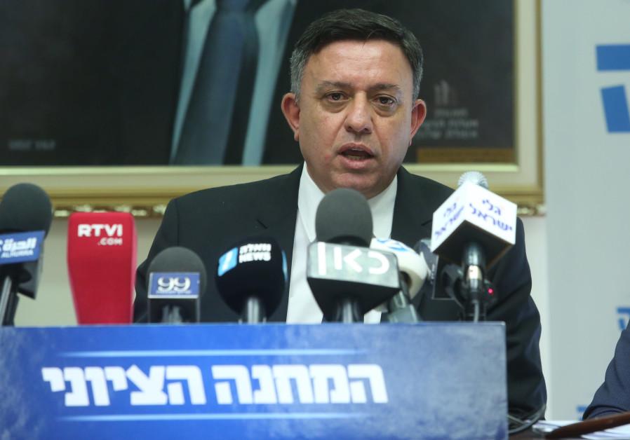 Labor party leader Avi Gabbay