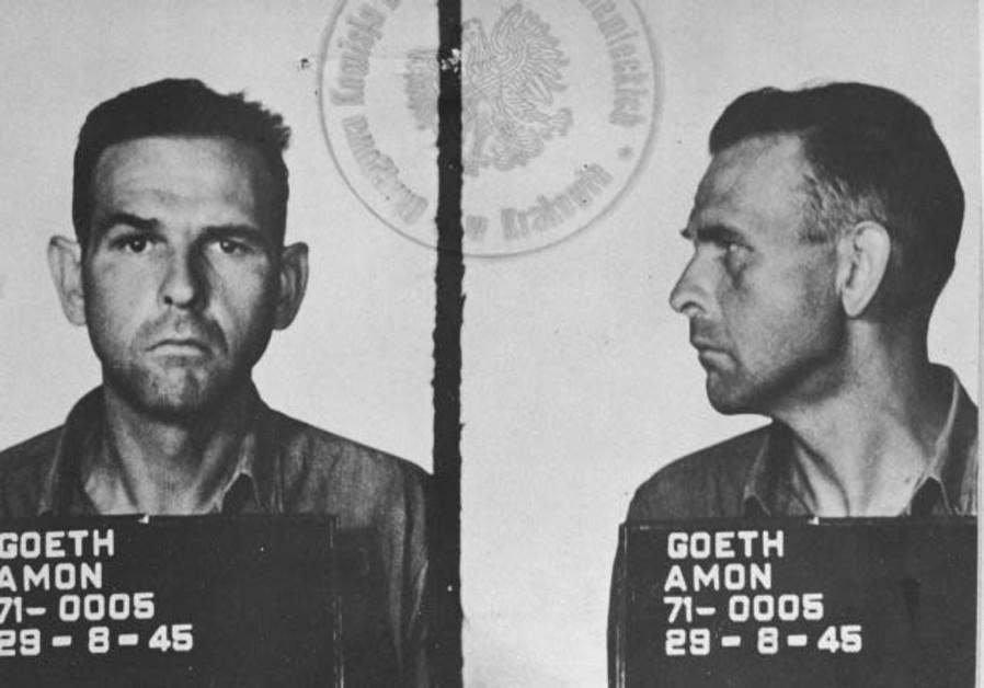 Nazi war criminal Amon Goth's headshot
