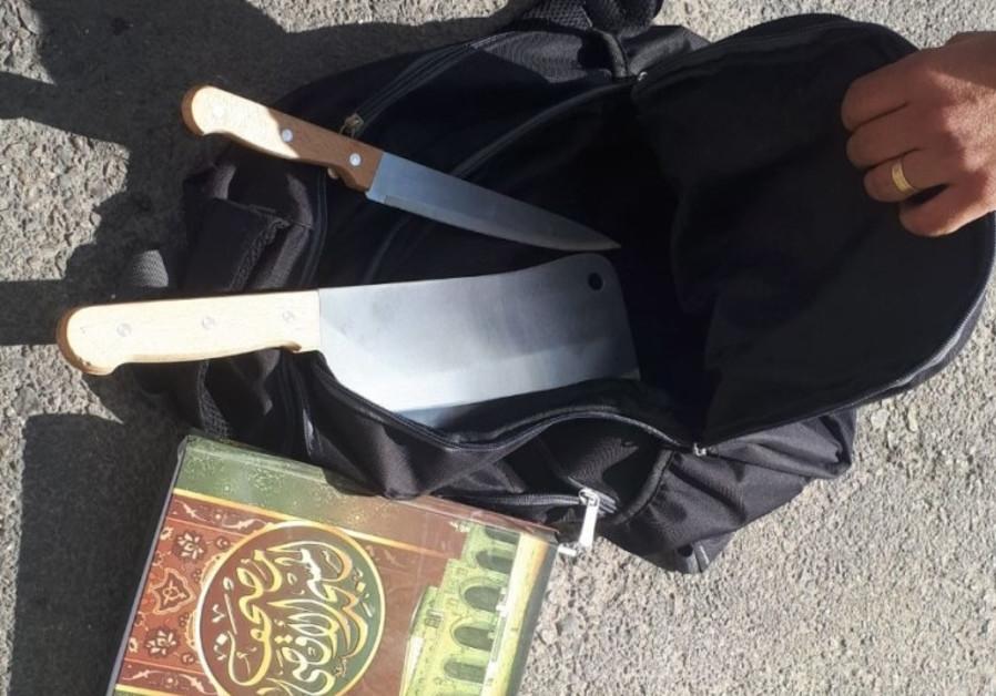 Terror attack thwarted in West Bank settlement north of Jerusalem