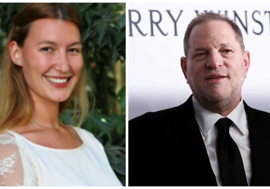 A composite photo of Harvey Weinstein and Stella Penn Pechanac