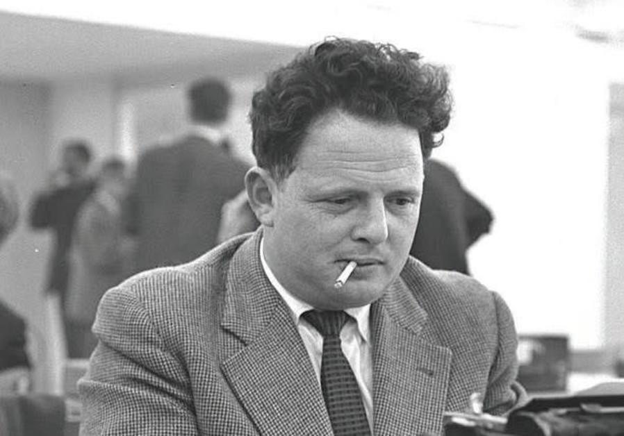 Tommy Lapid at the Eichman trial in 1961.