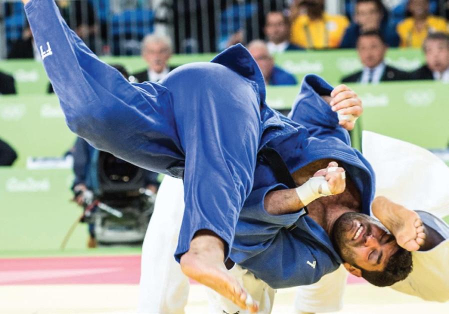 Israeli judoka Ori Sasson