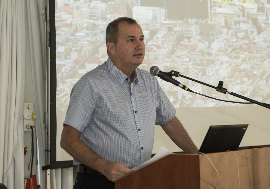 KKL-JNF Director General Amnon Ben Ami speaks at the Water Sensitive Cities Conference