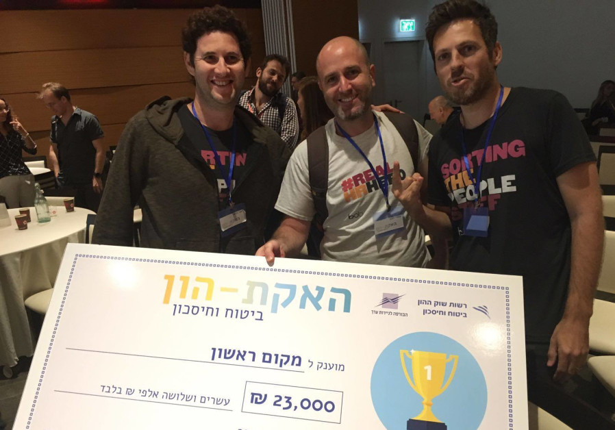 HiBob engineers Lior Harel, Doron Cyngiser and Omri Hecht win the gold at the Tel Aviv Stock Exchang