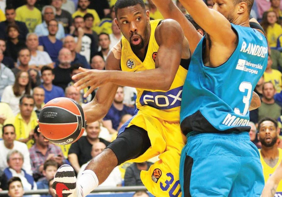Maccabi Tel Aviv Guard Norris Cole