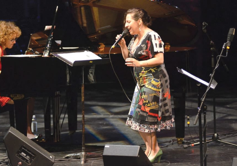 ISRAELI JAZZ pianist Anat Fort (left) performing with vocalist Ayelet Rose Gottlieb.