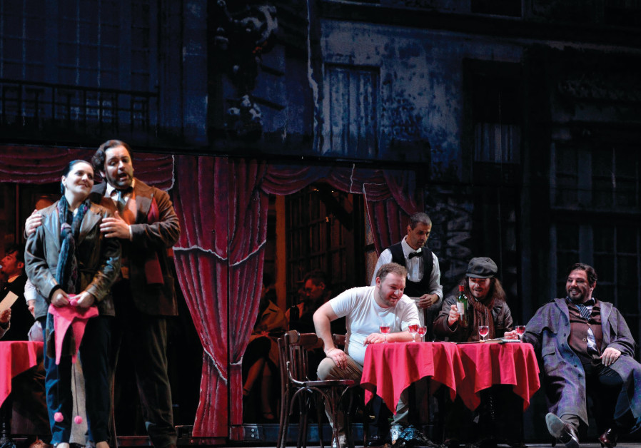 The Israeli Opera opens its new season with 'La Boheme'