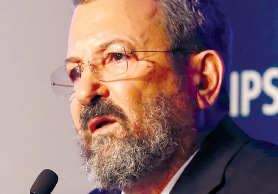 Former prime minister Ehud Barak sees the end of the Netanyahu era