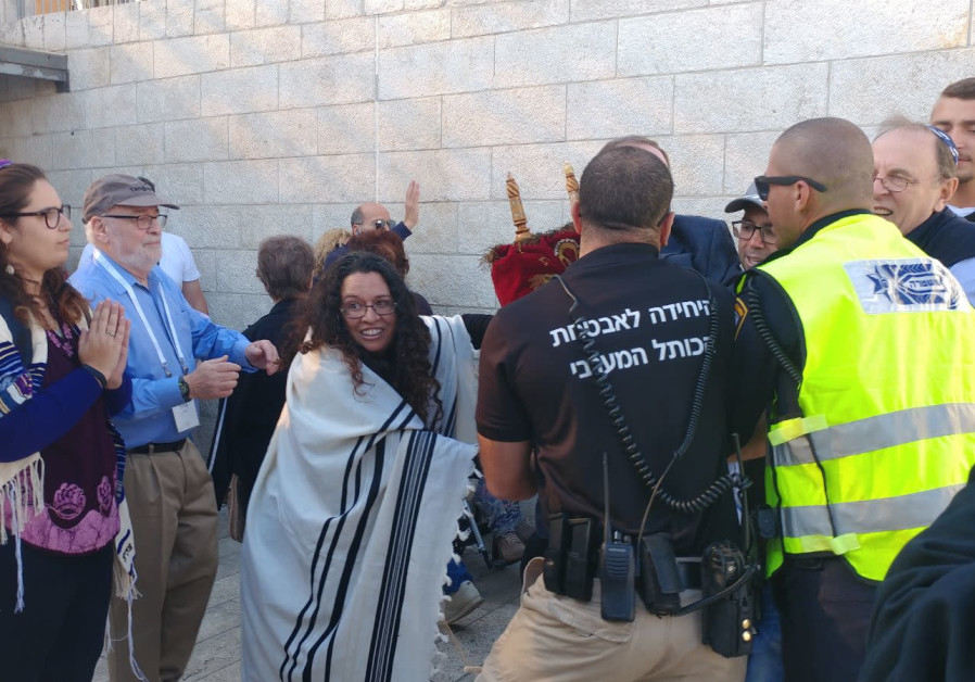 Scuffle at Western Wall