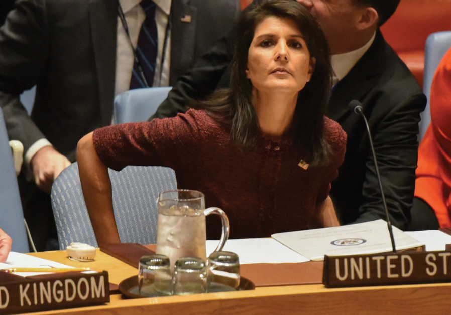 Iran 'tested by its own citizens': Haley