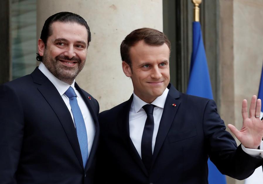 Lebanon's Hariri holds talks with Egypt President Sisi in Cairo